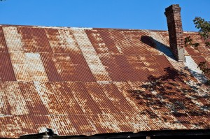roof damage due to rust