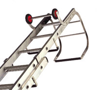 The Ideal Type Of Ladder When Working On Pitched Roofs. This Is Actually A  Variation Of The Extension Ladder, Typified By A Hook At The End.