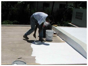 acrylic paint atlanta roofing