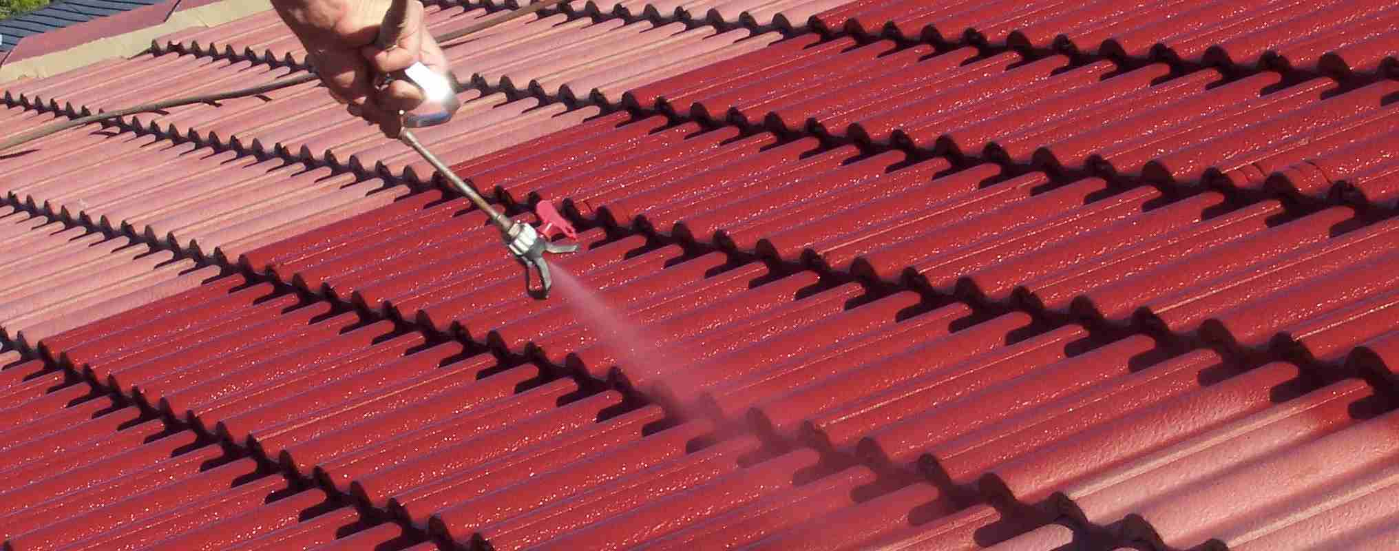 Painting your san diego roofing in four simple steps for Steel roof paint