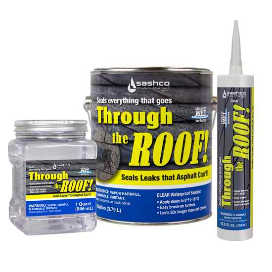 Metal Roof Sealant Review Sashco Through The Roof Sealant
