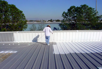 An Overview Of The Four Major Types Of Roof Coating