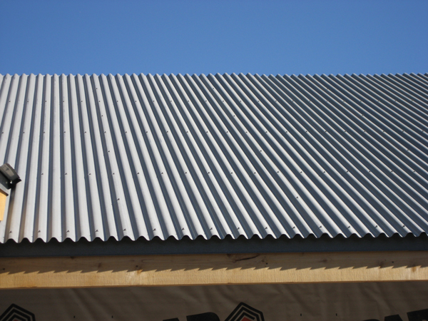 Properly Applying Metal Roof Paint In Corrugated Roofing