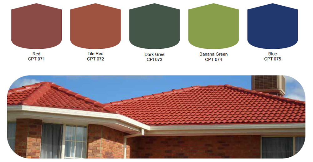 What Colour Paint Goes With Green Tiles