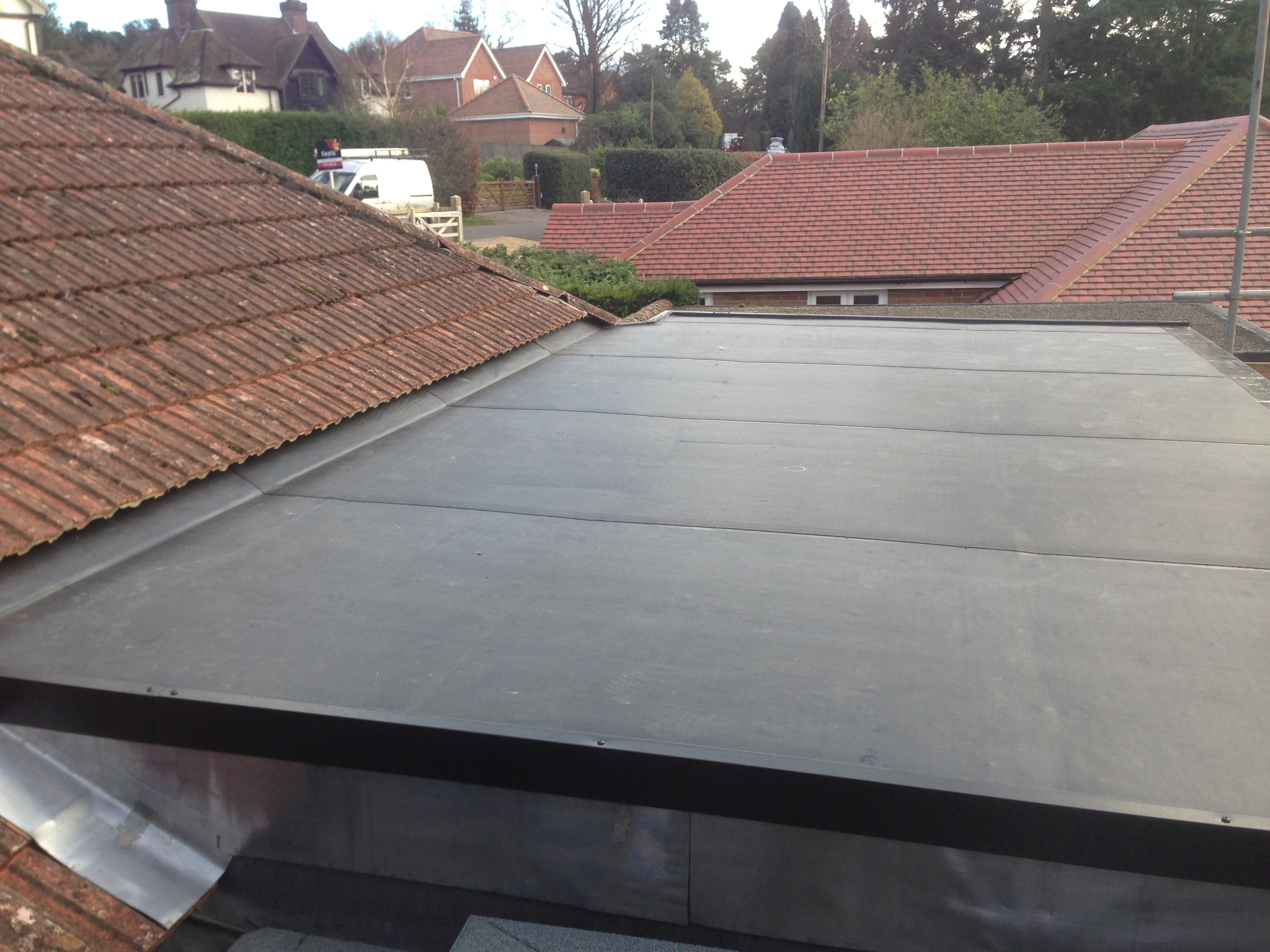 Epdm roofs epdm roofing - Advantages epdm rubber roofing ...