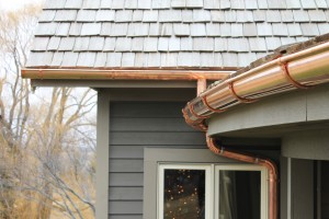 copper gutters cost