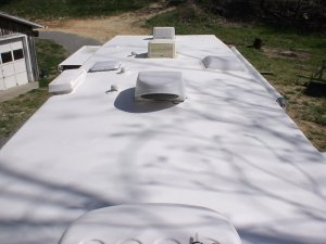 Identifying The Roof Membrane In Rv Rubber Roof Replacement